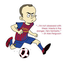 Andres Iniesta by dalf-rules
