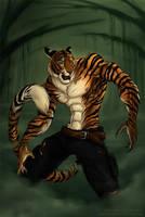 Tiger by jeddibub