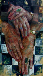 My grandmother's hands by nailone