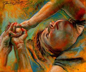 Marta pastel sketch by nailone