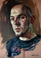 Portrait of Slawek Myskow by nailone