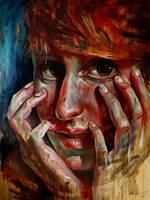Portrait of Pati by nailone