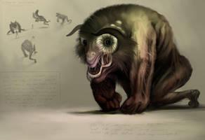 Citadel creature concept by nailone