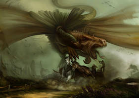 red dragon chase by nailone