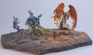 Angel, Spectre and Banshee by AnneCooper
