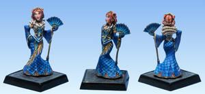 Queen Ileosa -Blue Version by AnneCooper