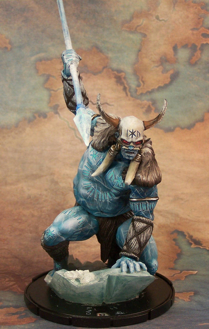 Frost Giant King by AnneCooper