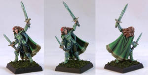 Aisha, Female Warrior by AnneCooper