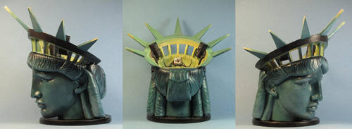 Ghostbusters 2 Statue of Liberty multiview by AnneCooper