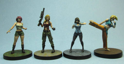 Ladies from Street Masters by AnneCooper