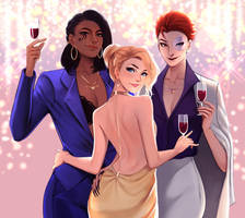 New Year Party by JojoPloy