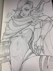 Bounty Huntress by JojoPloy