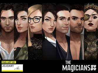 The Magicians Fan Art Contest by JojoPloy