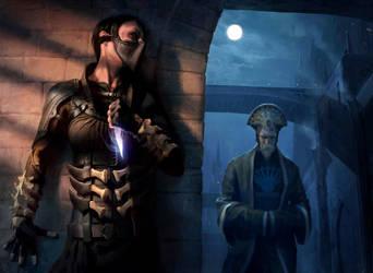 Assassin's Strike MTG by chasestone