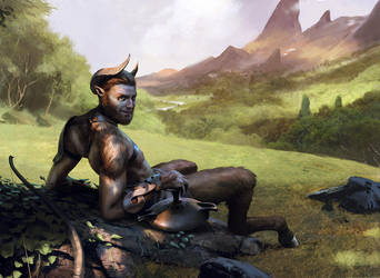 Satyr Hedonist by chasestone