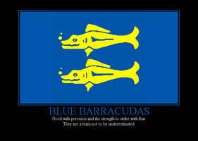 Blue Barracudas by Winter-Phantom