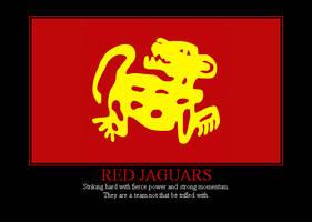 Red Jaguars by Winter-Phantom