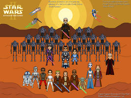 Star Wars: Episode II: Attack of the Clones by Winter-Phantom