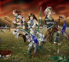 DW4: My Faithful Comrades by animetayl