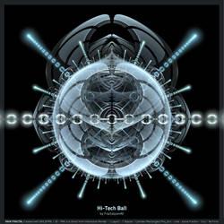 Hi Tech Ball by fractalyzerall