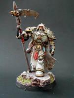 Mortarion Death Guard's Primarch 2009 version by RAFFETIN