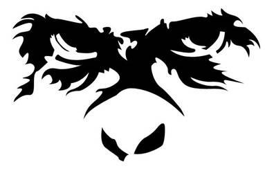 angry orangutan by kypshas