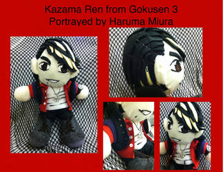 Ren Kazuma Plush Doll by Nogoshi64