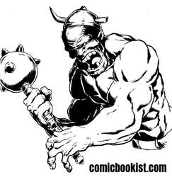 Inktober Day Twenty Six - Cyclops by Comicbookist