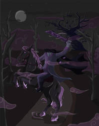 Headless Horseman Rythian by Silverpaw15