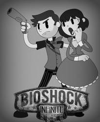 Bioshock InkBlot-Finite by itsaaudraw