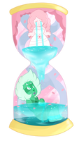 Steven Universe - Hourglass of Healing by itsaaudraw