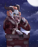Krampuswise by itsaaudraw