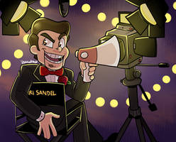 LIGHTS CAMERA SLAPPY by itsaaudraw