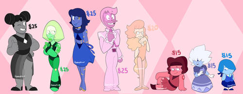 Gem Adoptables [5/8 OPEN] by itsaaudraw