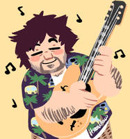 Jack Black by itsaaudraw