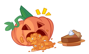 Pumpkin Guts by itsaaudraw