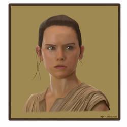 REY - Star Wars  by Jags4