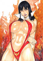 vampirella by matheushenrique157