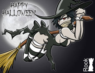 Happy Halloween 2016 by Rook-07