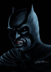 dark knight by killersid