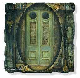 The Green Door by Curiosa37