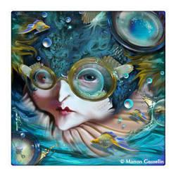 Myopic Mermaid by Curiosa37