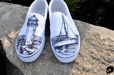 Sailor Shoes by P-O-R-K-Y