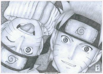 Naruto and Naruto by Beelthand
