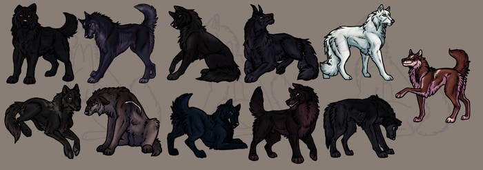 Attack of Miniwolves by Narncolie