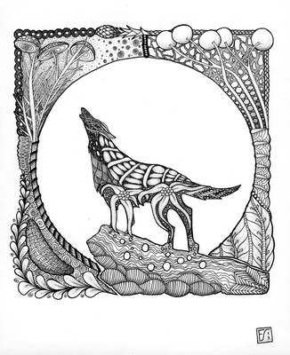 Tanglewolf by gormash