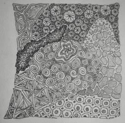 Zentangle 0002 by gormash