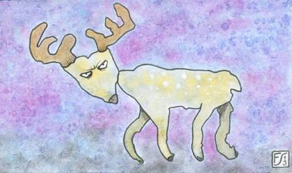 Blobimals - Angry Deer by gormash
