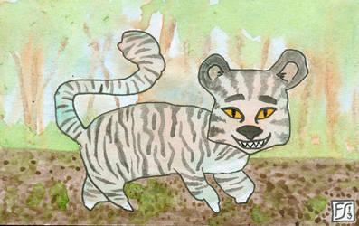 Blobimals - Sleazy Tiger by gormash