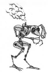 Automaton Birdman by gormash